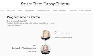 Read more about the article PROGRAMAÇÃO SMART CITIES, HAPPY CITIZENS